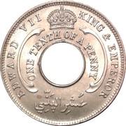 1/10 Penny - Edward VII – obverse