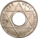 1/10 Penny - Edward VIII – reverse