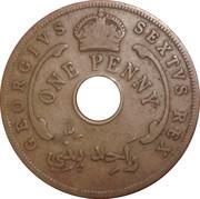 1 Penny - George VI (Mule) – obverse