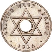 10 Cents - Edward VIII (mule) – reverse