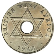 1 Penny - George VI (Edward VIII mule) – reverse