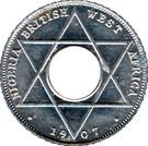 1/10 Penny - Edward VII – reverse