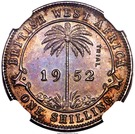 1 Shilling - George VI (Trial Strike) – reverse