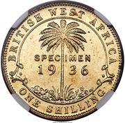 1 Shilling - George V (Trial Strike) – reverse