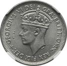 1 Shilling - George VI (Trial Strike) – obverse
