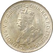 3 Pence - George V – obverse
