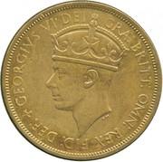2 Shillings - George VI (Trial Strike) – obverse