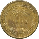 2 Shillings - George VI (Trial Strike) – reverse