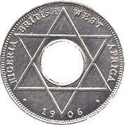 1/10 Penny - Edward VII (Trial Strike) – reverse