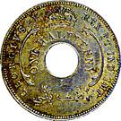 ½ Penny - George V – obverse