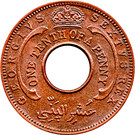 1/10 Penny - George VI – obverse