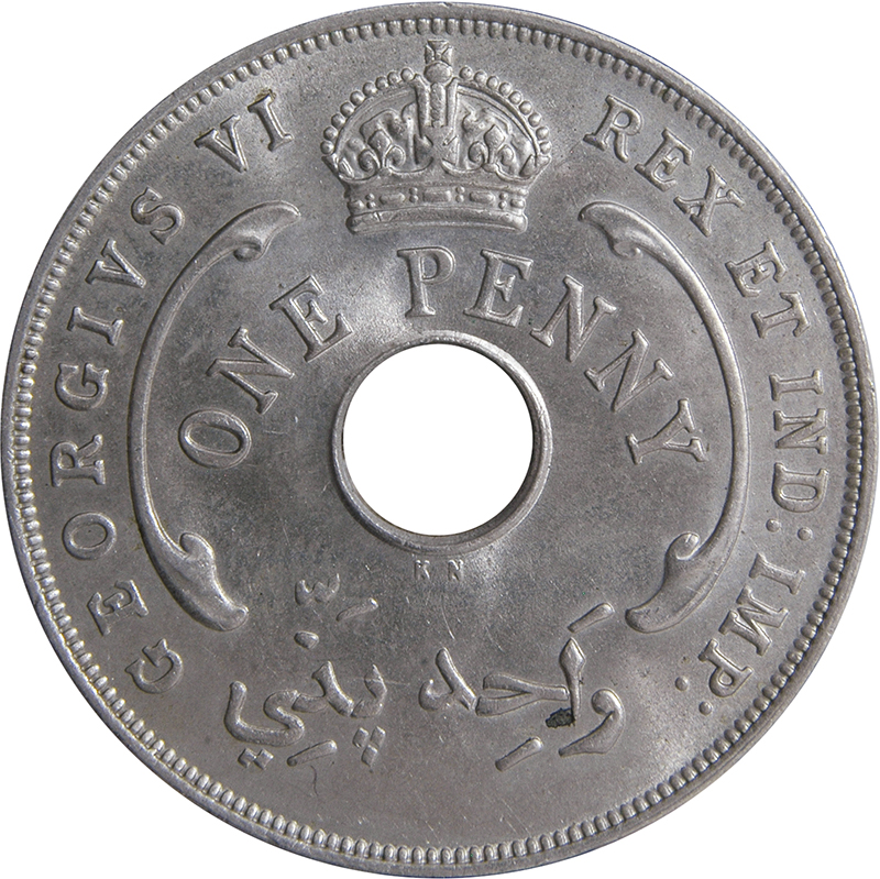 1 Penny - George VI - British West Africa – Numista