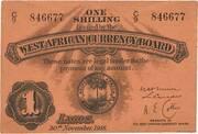 1 Shilling – obverse