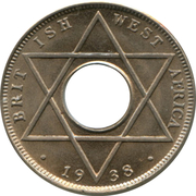 1/10 Penny - George VI – reverse