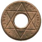 1/10 Penny - Elizabeth II – reverse