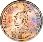 1 Rupie - Wilhelm II – obverse