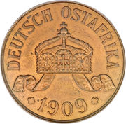 5 Heller - Wilhelm II – obverse