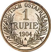 1 Rupie - Wilhelm II – reverse