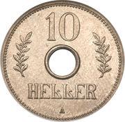 10 Heller - Wilhelm II – reverse