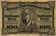 100 Rupien – obverse