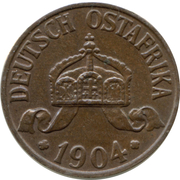 1 Heller - Wilhelm II -  obverse