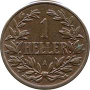 1 Heller - Wilhelm II – reverse