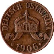 ½ Heller - Wilhelm II – obverse