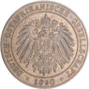 1 Pesa - Wilhelm II – obverse