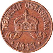 1 Heller - Wilhelm II – obverse