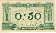 50 Centimes - Chambre de Commerce d'Agen (47) – obverse