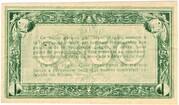 50 Centimes - Chambre de Commerce d'Agen (47) – reverse