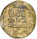 Dinar -  'Abd Allah I  – obverse