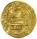 Dinar - Ziyadat Allah I  – reverse