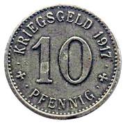 10 Pfennig - Ahlen – reverse