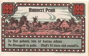 100 Pfennig – reverse