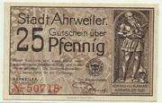 25 Pfennig (brown issue) – obverse