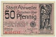 50 Pfennig (red issue) – obverse