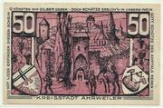 50 Pfennig (red issue) – reverse