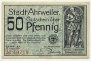 50 Pfennig (green issue) – obverse
