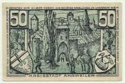 50 Pfennig (green issue) – reverse