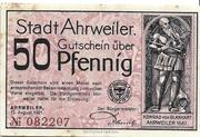 50 Pfennig (redviolett issue) – obverse