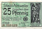 25 Pfennig (green issue) – obverse