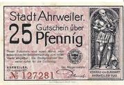 25 Pfennig (redviolett issue) – obverse