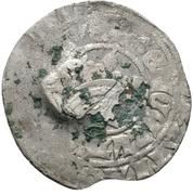 1 Prague Groschen (Counterstamped) – reverse