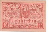 10 Heller (Aichkirchen) -  obverse