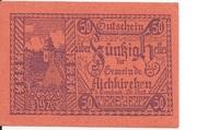 50 Heller (Aichkirchen) – obverse