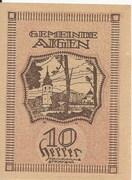 10 Heller (Aigen) – reverse