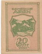 20 Heller (Aigen) – reverse