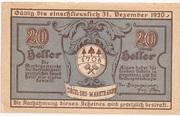 20 Heller (Aigen) -  obverse