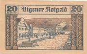 20 Heller (Aigen) -  reverse
